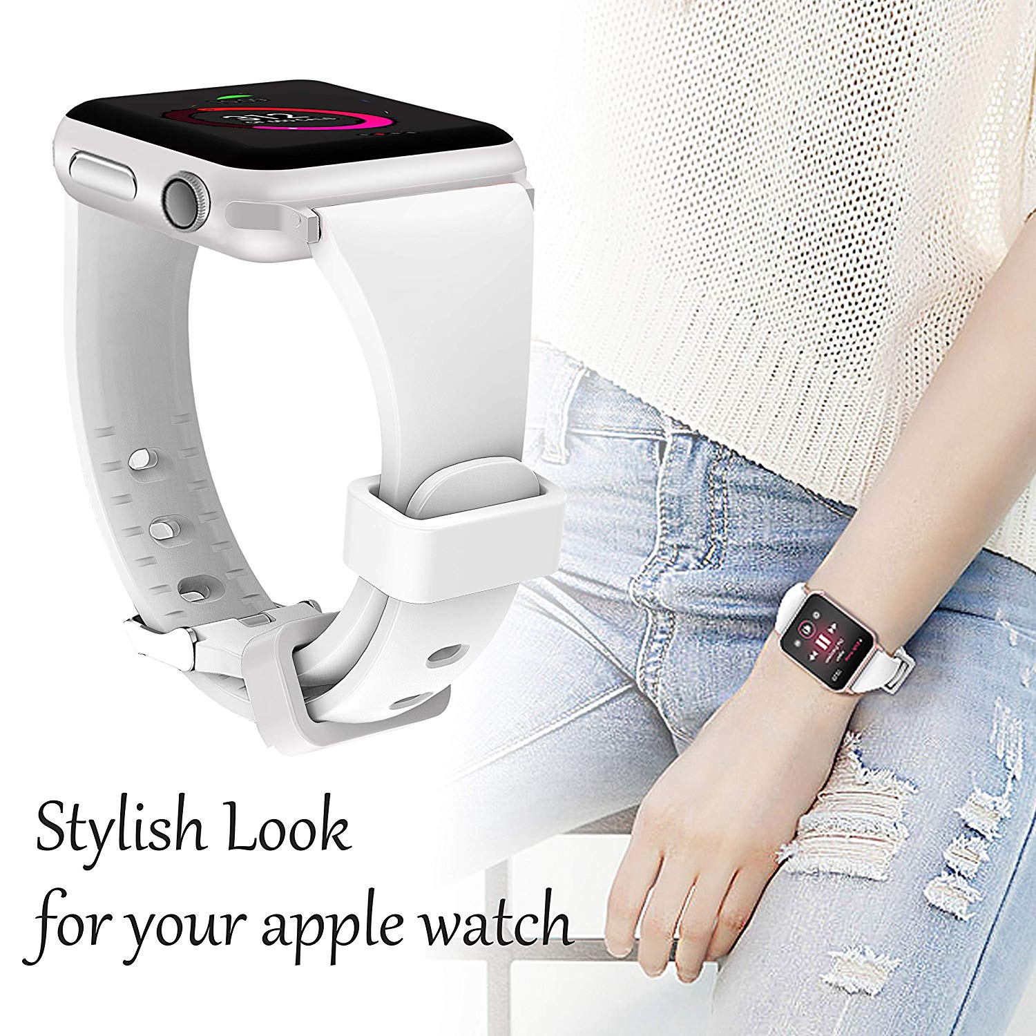 Apple watch slim band