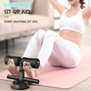 Sit-up Aid with Tension Exercise Resistance Band, Portable Adjustable Double Sit-up Bar Abdominal Muscles Assistant Device